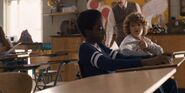 S1E02 Lucas and Dustin at school