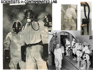 ST1 Costume Mood Board – Scientists in Contaminated Lab