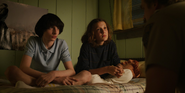 S03E01 Mike, Eleven and Hopper talks