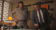 Hopper shows Dr. Owens the map of infected places