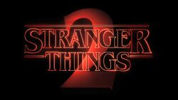 Stranger Things 2 Title Card