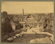 Baalbek. General view 04956r