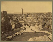 Baalbek. General view 04956r