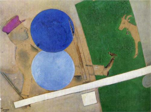 File:Composition aux cercles et la chèvre chagall.jpg