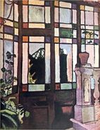 Window with coloured glasses dufy 06