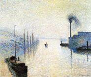 Ile Lacruix, Rouen pissarro 1898