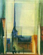 Gelmeroda ix lyonel feininger 1926