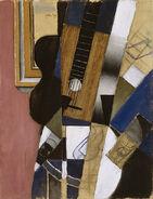 Juan Gris - Guitar and Pipe