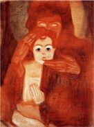 Mother and Child (Madonna) Schiele 1908