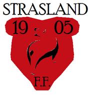 Strasland football logo