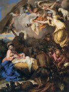 451px-Giovanni Benedetto Castiglione - The Adoration of the Shepherds - WGA4542