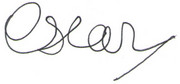 Oscar III signature