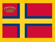Flag for monarken