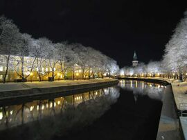 Finskeby river