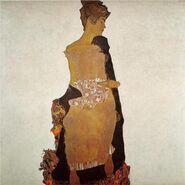 Portrait of Gerti Schiele schiele 1909
