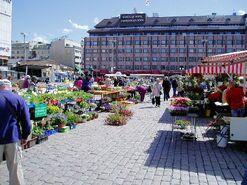 Finskeby market