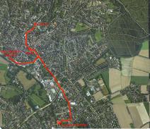 Straßenbahnstrecke Bad Salzuflen - Schötmar