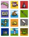 City state emblems