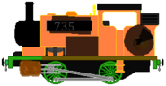 Pumpkin's Engine (Soot and dirt)
