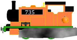 Pumpkin's Engine letting off steam