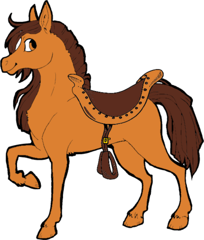 File:Treacle (With Saddle).png