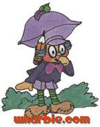 Plum Puddin as a Boy