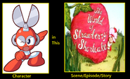 What if Cutman appeared in The World of Strawberry Shortcake