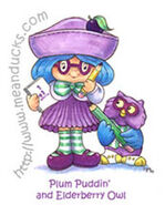 Plum Elderberry artwork
