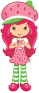 Strawberry Shortcake Drinking Strawberry Lemonade