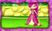 Raspberry as a princess by unicornsmile-d9z0po8