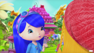 Blueberry talking with Apple