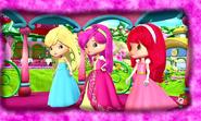 The three berry princesses by unicornsmile-d9x40bx