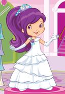 Princess Plum Pudding's White Gown by unicornsmile