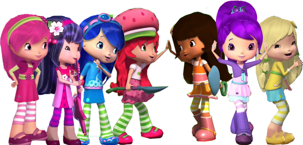 Image Afternoon Of Friends Png Strawberry Shortcake