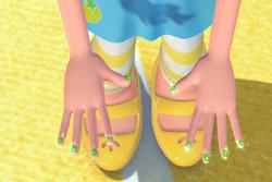Lemon nails