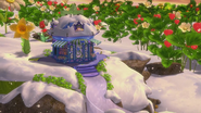 Blueberry Books during winter