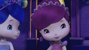 Raspberry and Blueberry with tiaras
