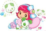 Baby Strawberry and Pupcake