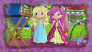 Princesses Lemonella and Raspbelina want to talk with their parents