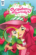 Strawberry Shortcake Comic Books Issue 3 - Page 1
