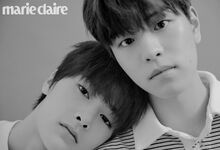 I.N Seungmin Marie Claire Magazine April 2019