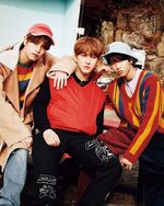 Seungmin Changbin Han NYLON guys JAPAN February 2020