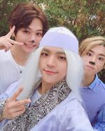 Woojin, Lee Know and Han IG Update 181030
