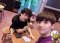 Bang Chan and I.N Update 180704 (2)