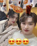 Lee Know Hyunjin IG Update 20200319