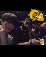 I.N, Hyunjin and Seungmin IG Update 180721 (2)