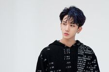 Changbin I am YOU Jacket Shooting Behind