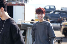 Seungmin I am NOT Jacket Shooting Behind (1)