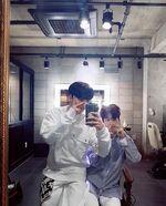 Hyunjin and Seungmin IG Update 180504