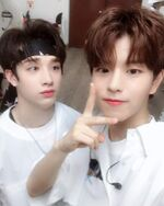 Seungmin and Bang Chan IG Update 180805 (1)